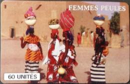 Telefonkarte Mali - Femmes Peules - Tradition - Frauen - 60 Units - Mali