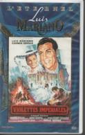 K7 Vidéo, VHS. VIOLETTES IMPERIALES. Luis MARIANO - Carmen SEVILLA. Musique Francis LOPEZ - Comédie