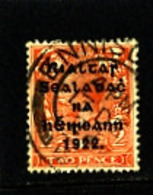 IRELAND/EIRE - 1922  2d  (Die II)  OVERPRINTED THOM  WIDER DATE  SG 50 FINE USED - 1922 Governo Provvisorio