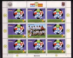 Football - Soccer World Cup 1982 - PARAGUAY - Sheet MNH - World Cup