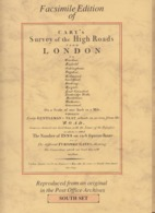 Facsimile Edition Of Cary's Survey Of The High Roads London, South Set And North Set - Roadmaps