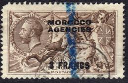 Morocco Agencies (Tangier) 1935 3F On 2/6 SG225 - Used - Oficinas En  Marruecos / Tanger : (...-1958