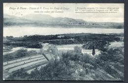 CV2940 ONIGO DI PIAVE (Treviso TV) Chiesa Di S. Elena Dei Conti Di Onigo, FP, Viaggiata 1917 Per Milano, Ottime Condizio - Treviso