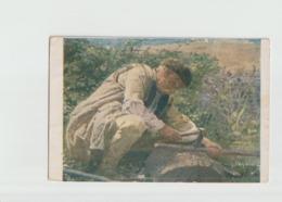 VIEILLARD DES ENVIRONS DE TRIN - Schilderijen