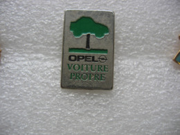 Pin's OPEL, Voiture Propre - Opel
