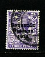 IRELAND/EIRE - 1923   FREE STATE  3d  SG 57  FINE USED - Usati