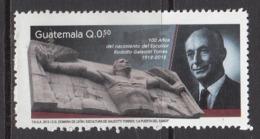 2013 Guatemala Torres Art Sculpture   Complete Set Of 1 MNH - Guatemala