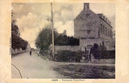 50 - AGON - Pensionnat Notre-Dame - Rare - Frankrijk