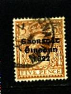 IRELAND/EIRE - 1922   FREE STATE  5d  SG 59  FINE USED - Usati