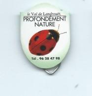 5 CT - TROMBONE PUBLICITAIRE -  THEME COCCINNELLE ( 2 SCAN ) - Plaques En Carton