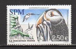Saint-Pierre Et Miquelon Yvert N° 82 Aérien Neuf Les Grands Migrateurs Le Macareux Moine Lot 24-101 - Ungebraucht