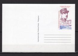 Saint-Pierre Et Miquelon Yvert N° 30-CP Neuf Cinquantenaire De L'Appel Du 18 Juin Lot 24-108 - Postal Stationery