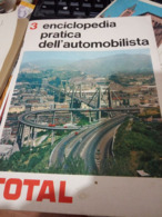 ENCICLOPEDIA AUTO CAR AUTOMOBILITA  TOTAL N°3 PONTE MORANDI  GENOVA  Intero Lancia  Fulvia  Fiat 850 Sport N1969 HG1390 - Enciclopedie