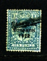 IRELAND/EIRE - 1922   FREE STATE  10d  SG 62  FINE USED - Usati