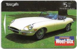 New Zealand - Advertising Cards - Classic Cars '95 - 1969 E-Type Jaguar, 1995, 5$, 23.000ex, Used - Neuseeland