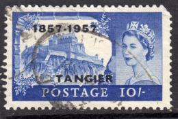 Morocco Agencies (Tangier) 1957 10/- SG340 - Used - Oficinas En  Marruecos / Tanger : (...-1958