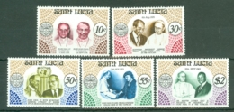 St Lucia: 1979   Pope Paul VI Commemoration    MNH - St.Lucia (1979-...)