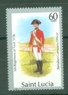 St Lucia: 1988/89   Military Uniforms  SG999   60c    MH - St.Lucia (1979-...)