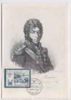 CARTE MAXIMUM CM Card USSR RUSSIA Napoleon France Art Painting Bagration General - 1923-1991 USSR