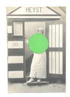 Kust - Fotokaart / Photo Carte - Cabine Certainement En Studio -Heist  (b261) - Heist