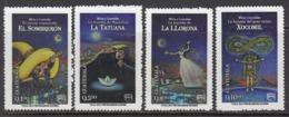 2013 Guatemala Myths Legends Stories UPAEP  Complete Set Of 4 MNH - Guatemala
