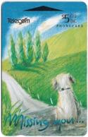 New Zealand - Gift Cards - Missing You... Dog - 1994, 5$, 20.000ex, Used - Neuseeland