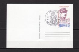 Saint-Pierre Et Miquelon Entier Postaux N° 30 CP Premier Jour 24 XII 90Charles De Gaulle  Lot 24-161 - Postal Stationery