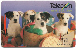 New Zealand - Promotional Cards - Spot & Family, 1994, 5$, 7.000ex, Used - Neuseeland