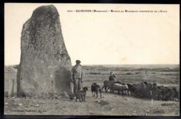 QUIBERON 56 - Menhir Du Manemeur - Berger Et Ses Moutons - A588 - Quiberon