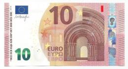 EURO OBERTHUR BULGARIA 10 FA F004 CIRCULATED DRAGHI ONLY ONE - EURO