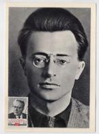 CARTE MAXIMUM CM Card USSR RUSSIA Italy Communist Palmiro Togliatti - 1923-1991 UdSSR