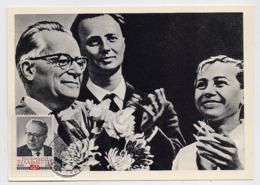 CARTE MAXIMUM CM Card USSR RUSSIA Italy Communist Palmiro Togliatti Scout Camp Artek - 1923-1991 UdSSR