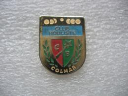Pin's Du Club Bouliste De La Ville De COLMAR - Bowling
