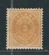 ISLANDE  N° 12 A * - Neufs