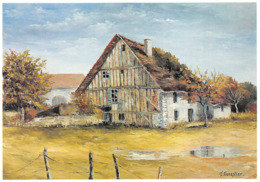 Rahon Canton Chaussin Peinture Christian Forestier - France
