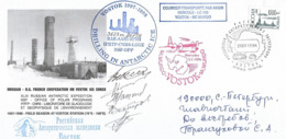 STATION VOSTOK - FORAGE GLACIAIRE PROFOND Record - Vol C130 Vostok-Mc Murdo - Forschungsprogramme