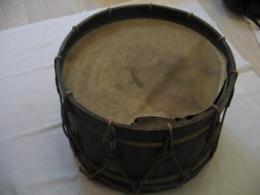 Ancien TAMBOUR MILITAIRE XIX - Equipment