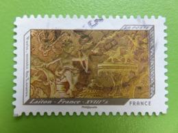 Timbre France YT 650 AA - Impressions De Relief - Montre Française En Laiton - 2012 - Autoadesivi