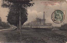 S44-043 Reims - Brasserie Du XXe Siècle Et Le Pont De Saint-Brice - Reims