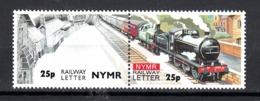 Trein, Train, Locomotive, Eisenbahn  Railway Letter North York Moors Historical Railway - Eisenbahnen