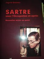 Sartre Sous L'occupation Et Après INGRID GALSTER L'harmattan 2014 - Livres, BD, Revues