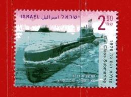 (CL.R) ISRAELE ° 2017 - GAL CLASS SUBMARINE  Usato - Used. - Israele