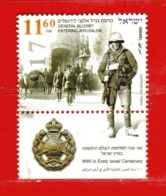 (CL.R) ISRAELE ° 2017 - GENERAL ALLENBY.  Usato - Used. - Usati (con Tab)