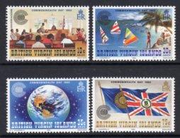 VIRGIN ISLANDS - 1983 COMMONWEALTH DAY SET (4V) FINE MNH ** SG 500-503 - Britse Maagdeneilanden