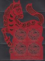 2013 Liechtenstein Year Of The Horse MNH @  Face Value - Año Nuevo Chino