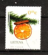 Lituania   -   2018.  Arancia. Orange - Frutta