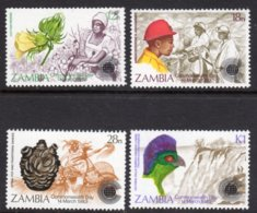 ZAMBIA - 1983 COMMONWEALTH DAY SET (4V) FINE MNH ** SG 379-382 - Zambia (1965-...)