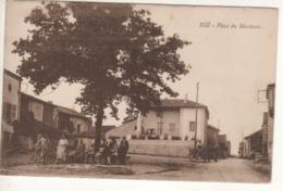 Ref2   Cpa    IGE   Place Du Martoret - France