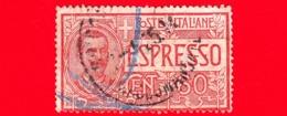 ITALIA - REGNO - Usato - 1922 - Espresso - Effigie Di Vittorio Emanuele III Entro Un Ovale - 60 C. - 1900-44 Victor Emmanuel III.