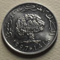 1997 - Tunisie - Tunisia - 1418 - 5 MILLIM - KM 348 - Tunisia